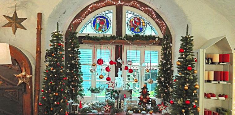 Немецкое рождественское окно