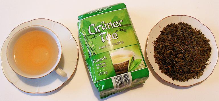 Зеленный чай