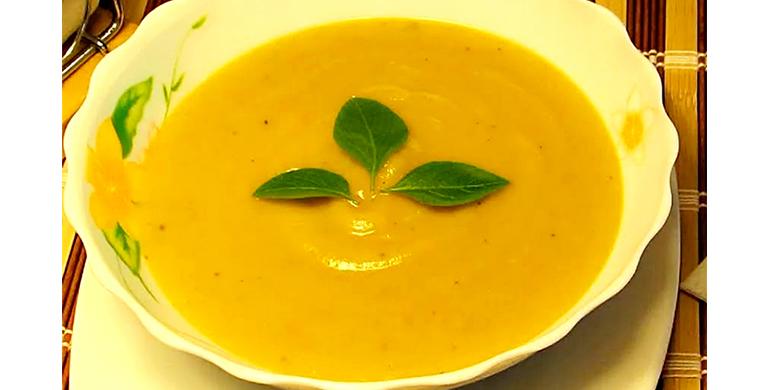 Суп-пюре кабачковый
