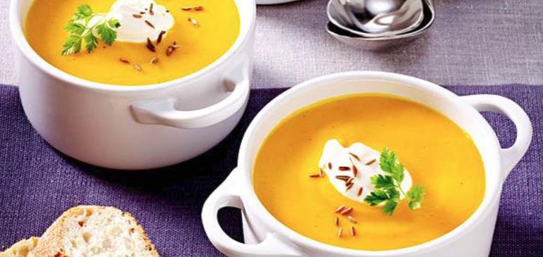 Sup s apelsinomном