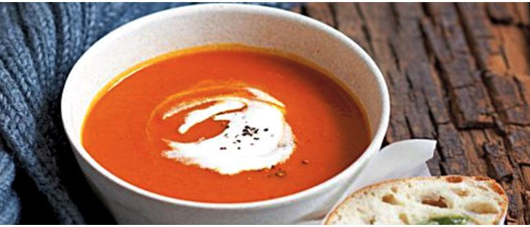 Tomatno-tykvennyj sup