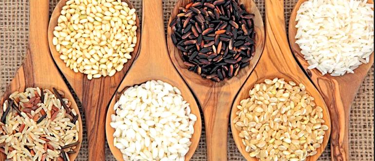Различные виды риса