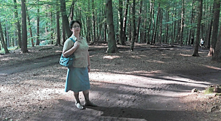 Bosikom po parku