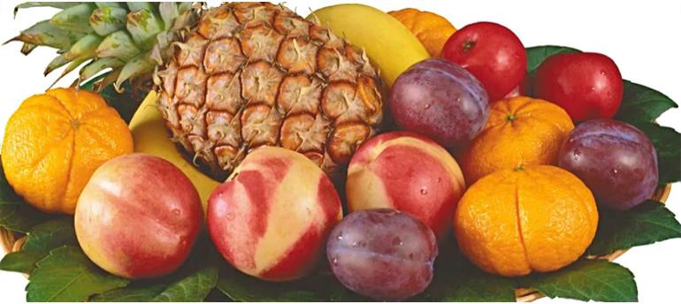 Frukty na zavtrak