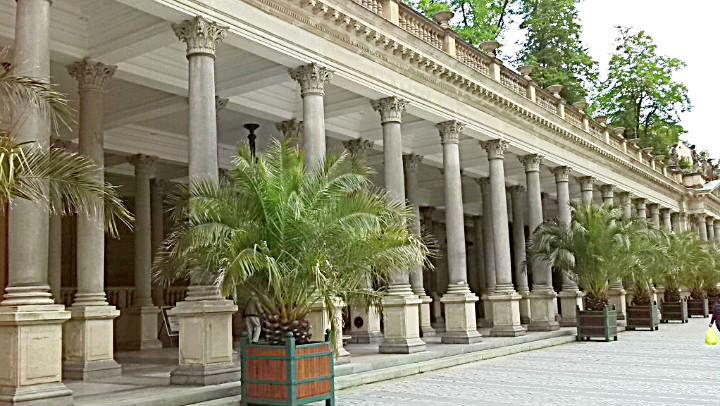 Karlovy Vary Мelnichnaya-kolonnada