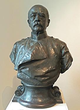 Бюст Бисмарка в музее