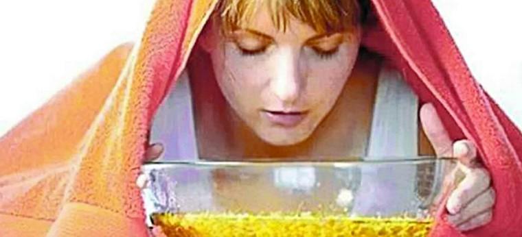Паровая баня для лица