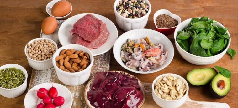 Продукты содержащие цинк и селен