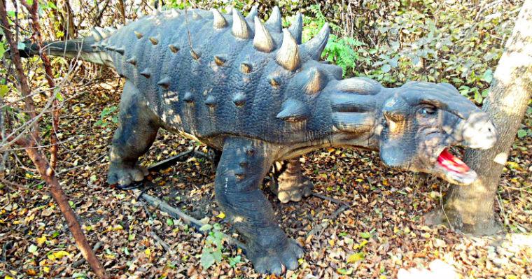 Один из динозавров
