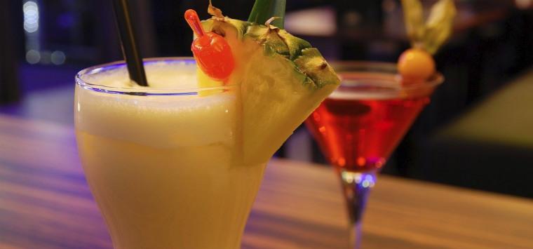Ананасово-кокосовый коктейль