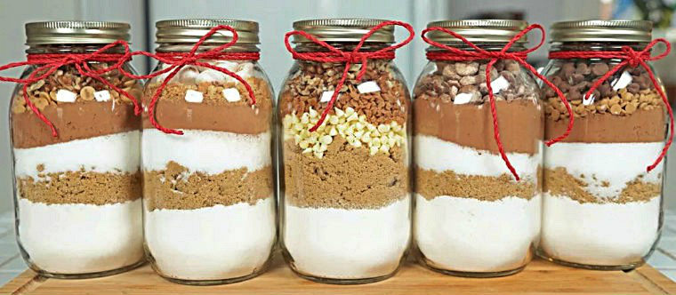 Сухое какао с шоколадом к празднику