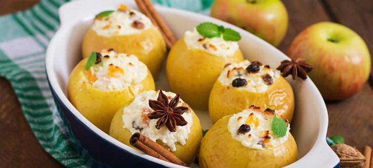 Традиционно запеченные яблоки