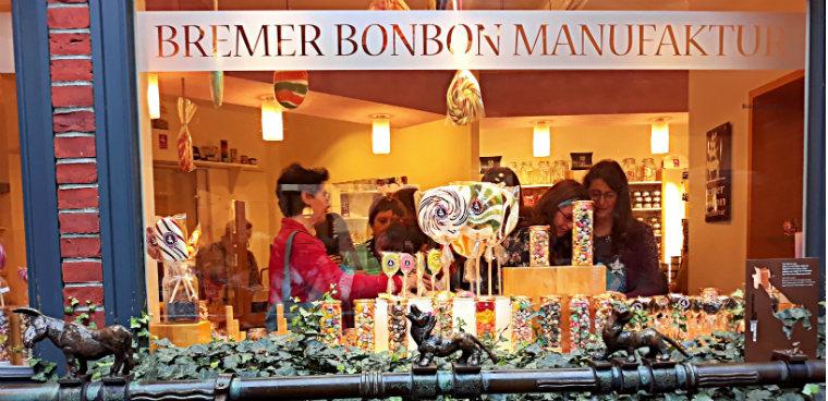 Лавка сладостей на Бёттхерштрассе
