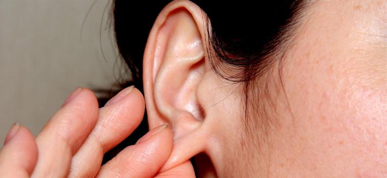 Массаж ушных раковин