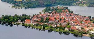 Ратцебург расположен на острове