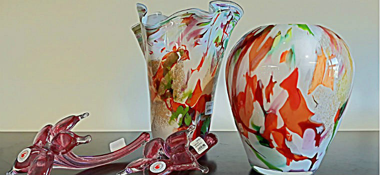 Пестрые вазы