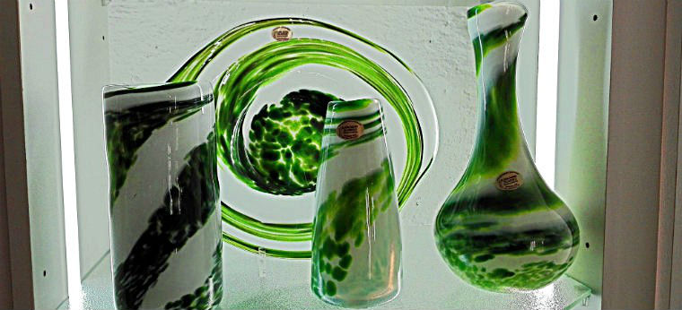 Зеленые вазы