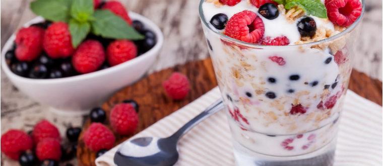 Мюсли с йогуртом