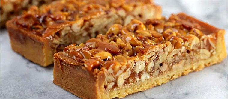 Пирог с орехами
