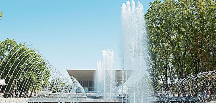 Поющий фонтан Аврора Краснодар