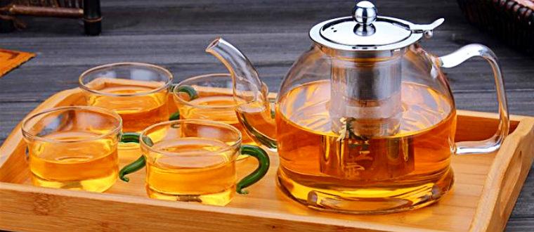 Стеклянные стаканы для чая