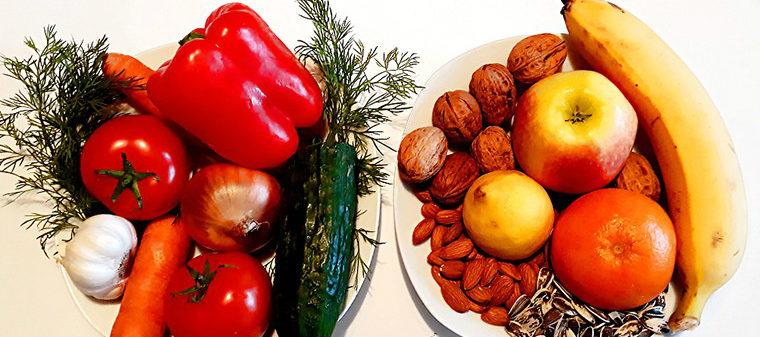 Овощи фрукты злаки и семечки