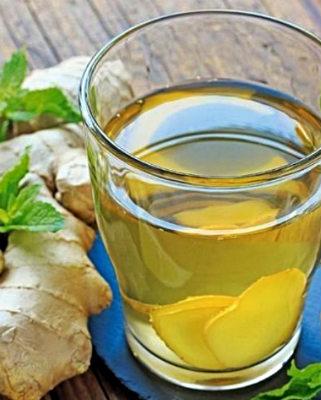 Вода с имбирем и медом