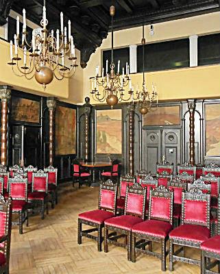 Главный зал Ратуши Букстехуде