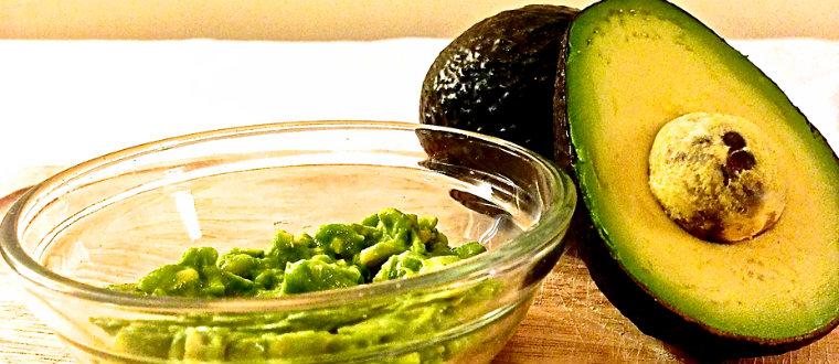 Маски фруктовые из авокадо