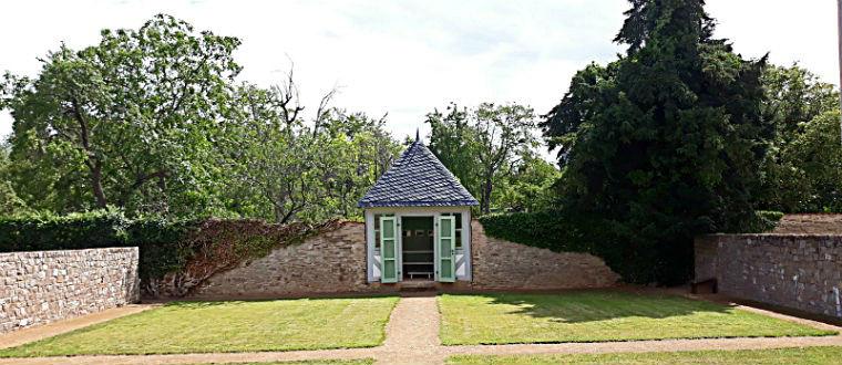 Участок монастырского сада