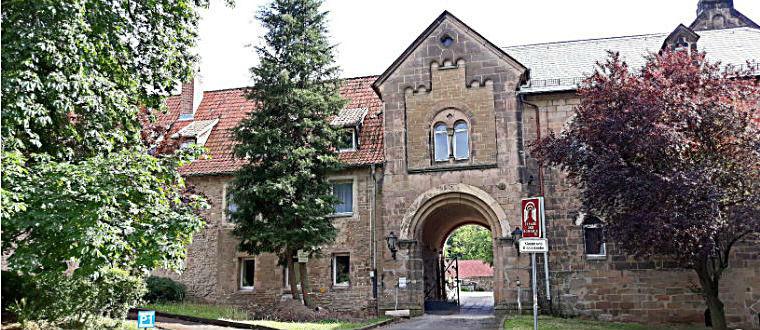 Вход в монастырский комплекс Ильзенбург