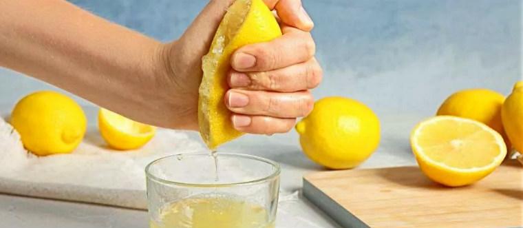 Лимонная вода-приготовление