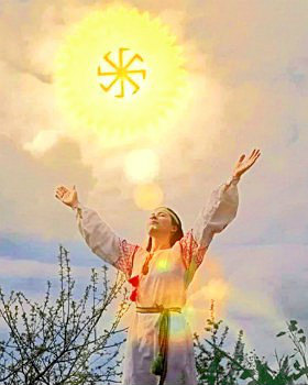 Приветствие солнцу