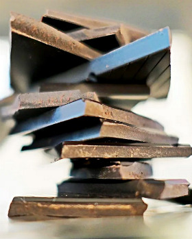 Шоколад кусочками