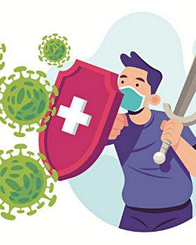 Хороший иммунитет-щит от инфекций