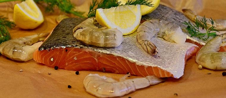 Омега-3 в рыбе и морепродуктах