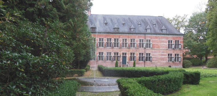 Парковый фонтан замка Райнбек