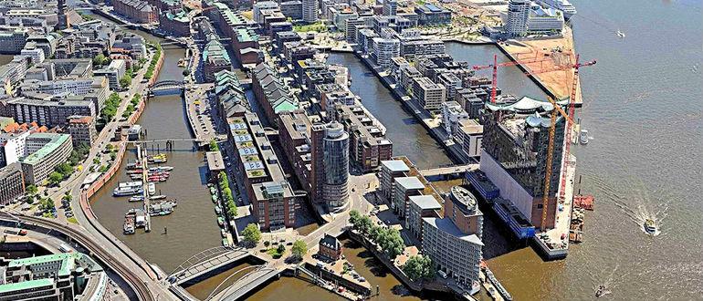 Гамбургский порт-достопримечательности города