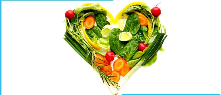 Веганское меню салат