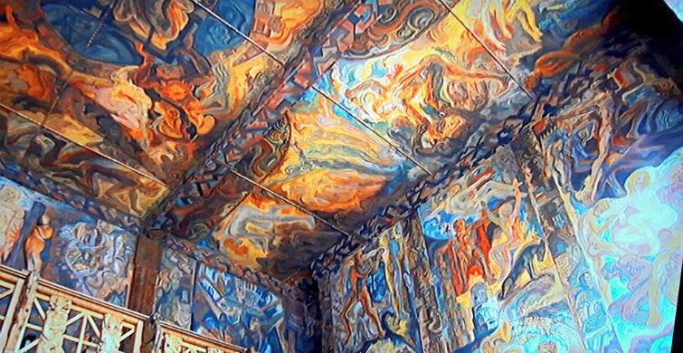 Потолок Эдда зала