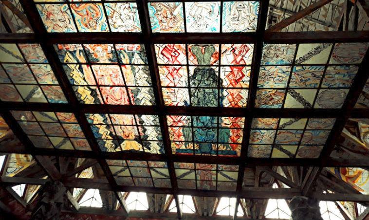 Потолок храма Света
