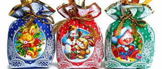 Сладкие подарки своими руками на новый год