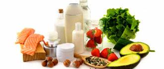 Правильное питание- продукты для кожи