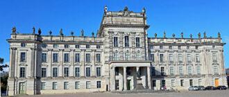 Фасад дворца Людвигслуст