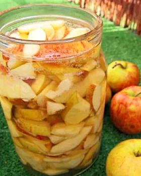 Приготовление яблочного уксуса