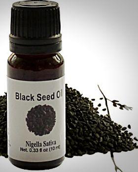 Пузырек с маслом черного тмина