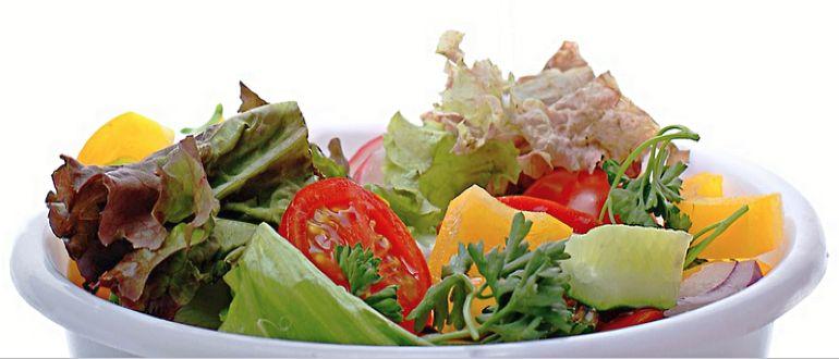 Салат из полезных овощей
