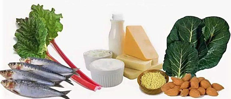 Продукты, предотвращающие остеопороз