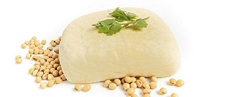 Продукты из сои-сыр и бобы
