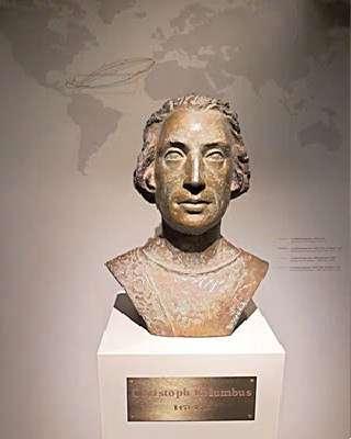 Бюст Христофора Колумба